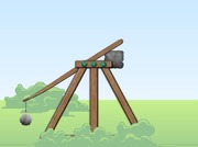 Shooting-game-2-with-a-catapult